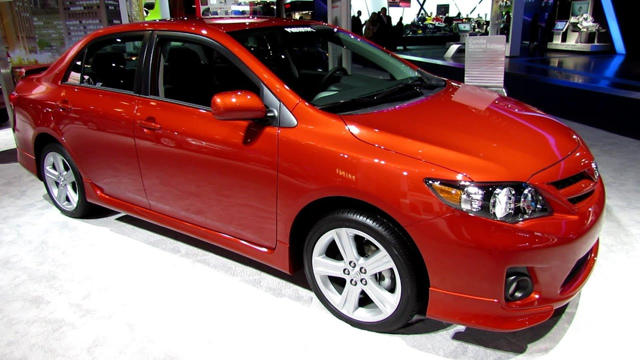 2013 toyota corolla special edition s exterior and interior walkaround 2013 new york auto. Black Bedroom Furniture Sets. Home Design Ideas