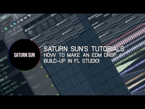 HOW TO MAKE AN EDM DROP/BUILD-UP IN FL STUDIO!