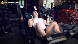 Упражнения для ног. Гакк-приседания.(Вконтакте: http://vk.com/yougifted Facebook: http://www.facebook.com/YouGiftedOnline Twitter: http://twitter.com/YouGiftedRussia Подписка: ..., 2011-12-06T14:48:34.000Z)