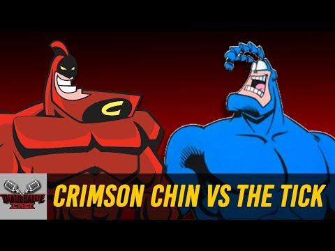 Crimson Chin VS The Tick   DEATH BATTLE Cast
