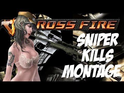 CrossFire AL - Sniper Kills Montage