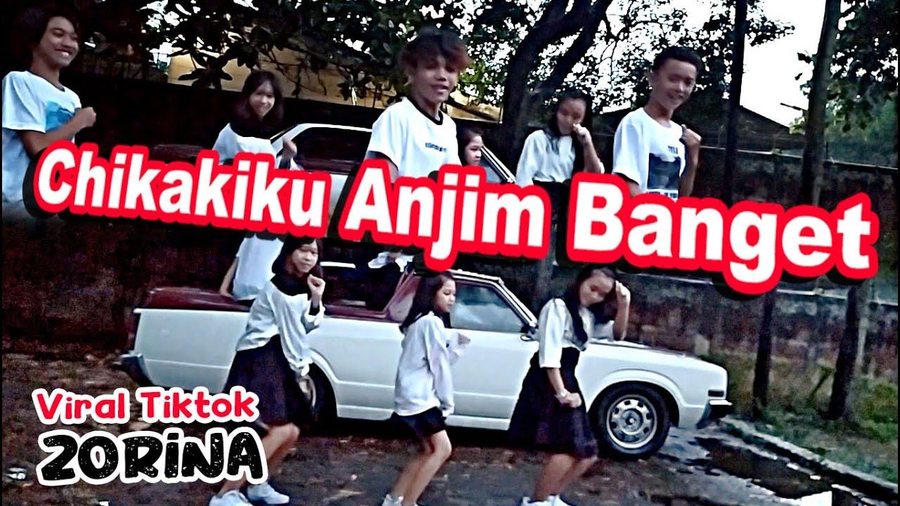 lagi viral tiktok chikakiku anjim banget - zorina dance