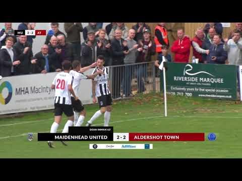Maidenhead v Aldershot Town   Highlights