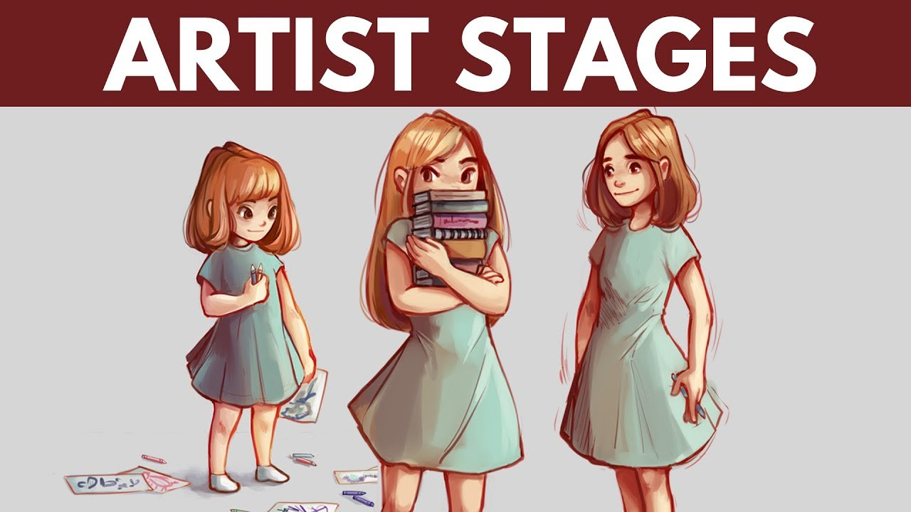 Stages Of Being An Artist