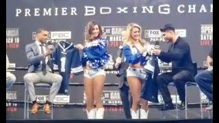 LIVE! SPENCE VS GARCIA LOS ANGELES PRESS CONFERENCE!