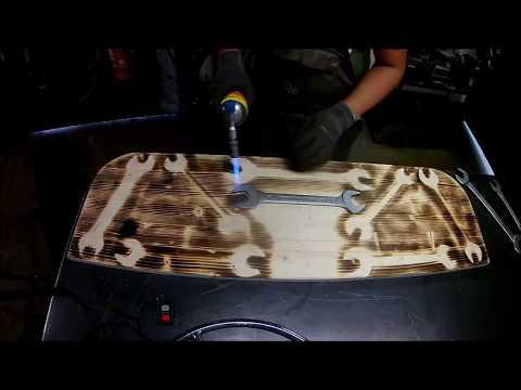 Wood Branding / Holz flambieren leicht gemacht