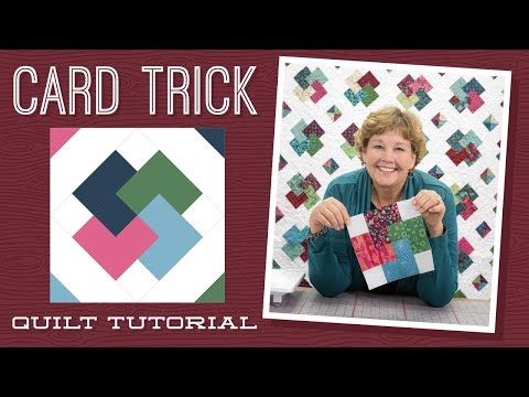 """Make a """"Card Trick"""" Quilt with Jenny! להורדה"""