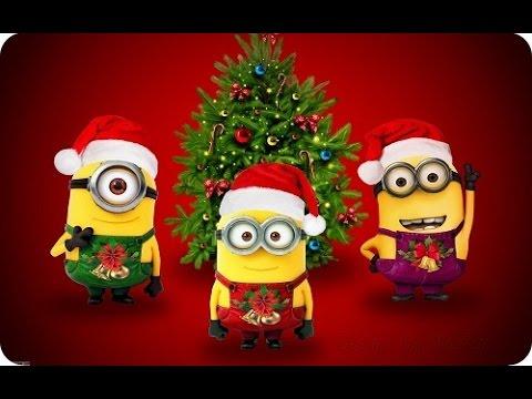 Videos De Felicitaciones De Navidad Graciosas.El Mejor Video Graciosos De Navidad Los Minions 2016