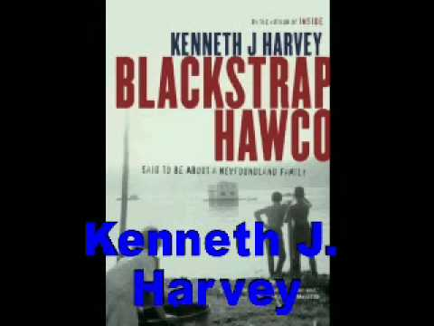 Kenneth J. Harvey-Blackstrap Hawco-author interview