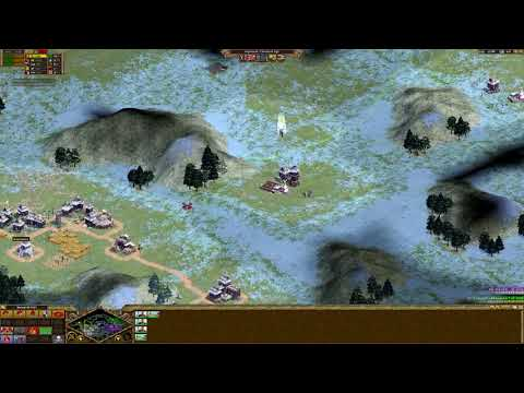 [Rise of Nations] Nomad 2vs2 (Himalayas) (Tiger Observer)