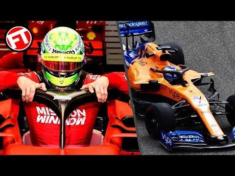 ¡¡ALONSO PRUEBA EL MCLAREN!! Y MICK SCHUMACHER SE ESTRENA CON FERRARI EN LA F1 - TEST DE BAHREIN
