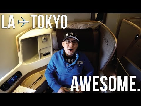 $7000 Singapore Airlines Business Class Review (LA to Tokyo JAPAN)