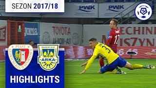Piast Gliwice - Arka Gdynia 0:1 [skrót] sezon 2017/18 kolejka 10
