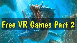 Free VR Games Part 2