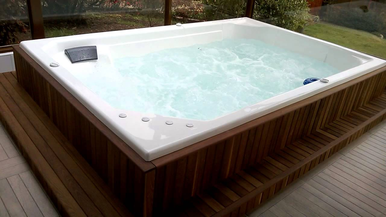 Jacuzzi exterior medidas spa empotrable rectangular for Jacuzzi exterior medidas