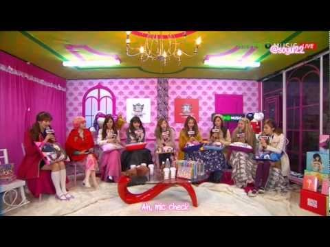 "[130105][ENG][HD] SNSD - ""Girls' Generation Viewable Radio"" Talk at Naver V-Concert (1/3)"