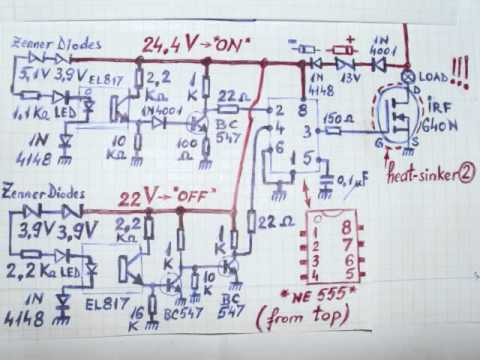 24V MPPT, both zones circuit diagram * NEW * - YouTube