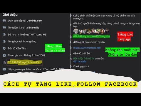 cách hack lượt người theo dõi trên facebook - Cách tăng lượt theo dõi trên facebook | Mới nhất | 100% thành công | Uy tín