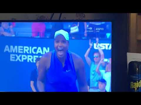 Taylor Townsend Upsets Simona Halep In US Open - Vlog Report