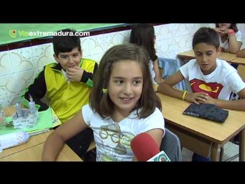 Entrevista a los alumnos de 5º de primaria del Colegio San José de Plasencia.
