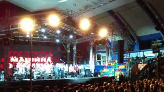Освистанные единоросы на концерте Машины Времени(Кемерово, 3.11.2011 СК