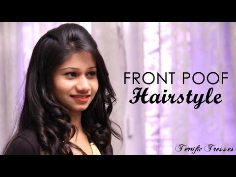 How To Do Perfect Front Poof Youtube