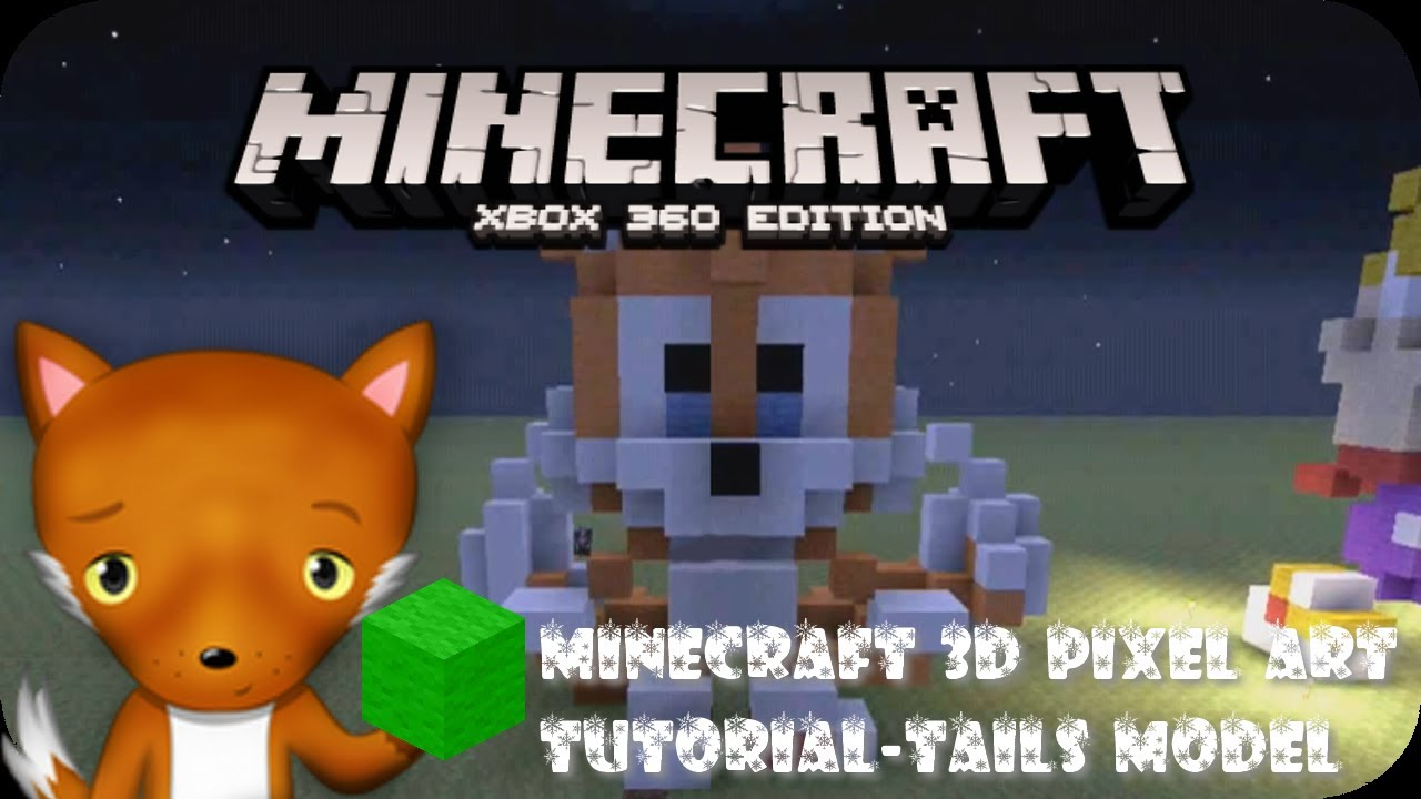 minecraft how to make 3d models