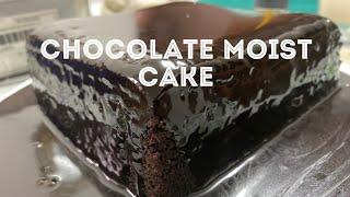 THE MOIST CHOCOLATE CAKE