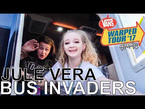 Jule Vera - BUS INVADERS Ep. 1249 [Warped Edition 2017]