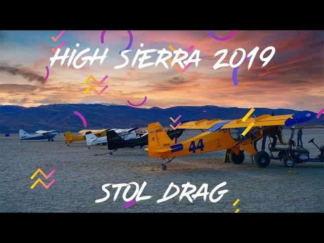 A BACKCOUNTRY JUNKIE FIX - High Sierra 2019 Stol Drag