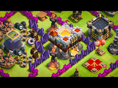 ALL PINK!  NOW PURPLE!?  Fix that Engineer ep12 | Clash of Clans
