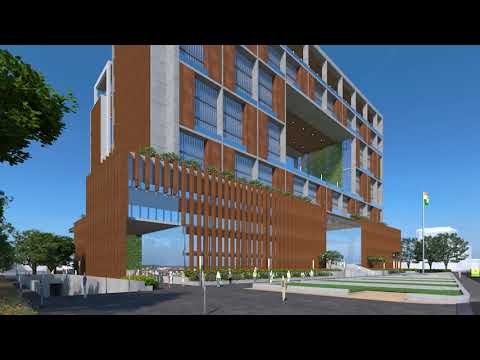 Walk Through Video of the High Rise Office Building for Surat Municipal Corporation