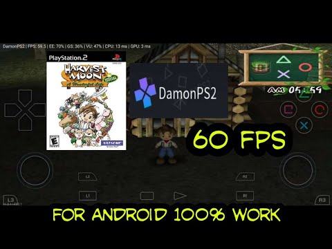 Cara Bermain Game Harvest Moon A Wonderful Life Spesial Edition Damon PS2 For Android