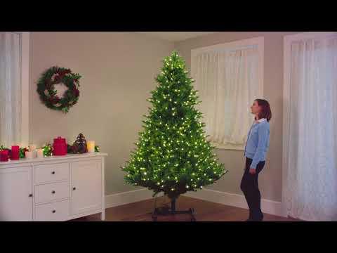 Grow And Stow Christmas Tree.Costco Grow And Stow Christmas Tree Color Changing Led