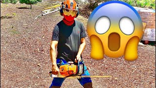 Chainsaw pants 😱 Pantalon anti corte bueno o malo? Dejen sus comentarios 👇🏾👇🏾👇🏾👇🏾👇🏾👇🏾