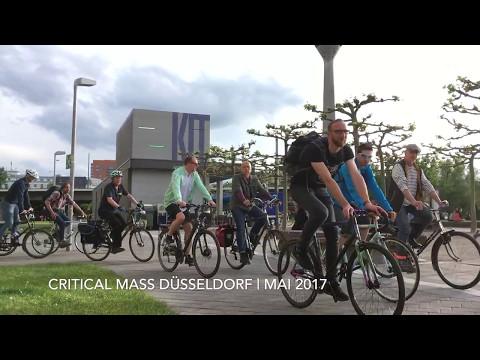 Critical Mass Düsseldorf - Mai 2017