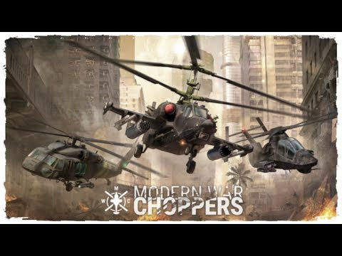 Modern War Choppers Gameplay Android   New Mobile Game