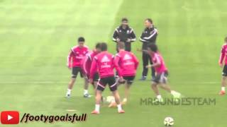 Cristiano Ronaldo In Training ● Skills⁄Tricks⁄Freestyle HD 2015