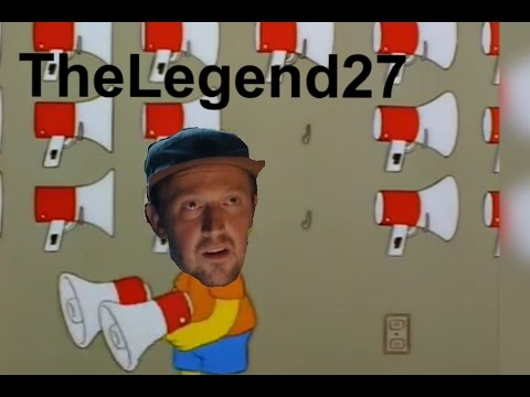 Thumbnail: TheLegend27 but Bart Uses A Megaphone