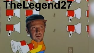 TheLegend27 but Bart Uses A Megaphone