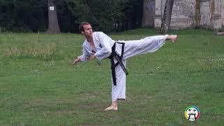 Обучение Чунг Му туля(вид спереди), Taekwondo Choong-Moo (front)