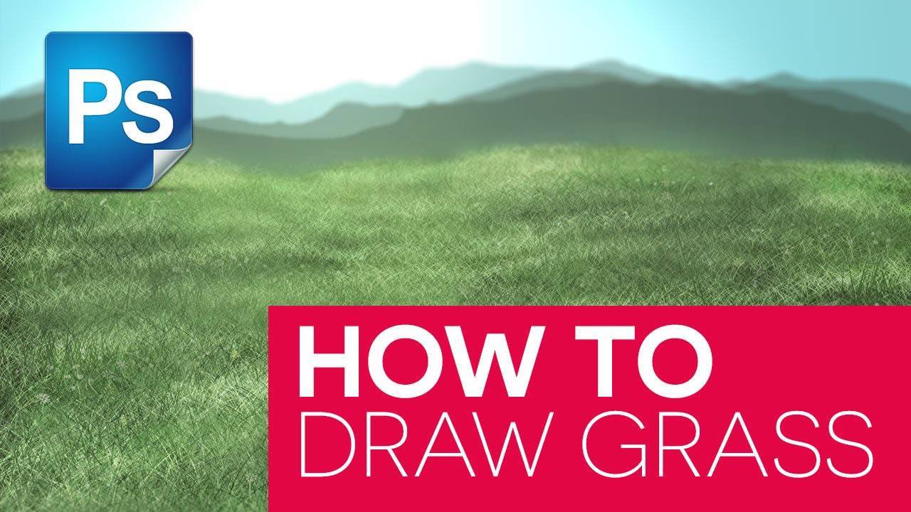 How To Draw Grass in Photoshop