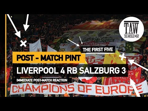 rpool 4 RB Salzburg 3  Post-Match Pint  Five Minute Taster