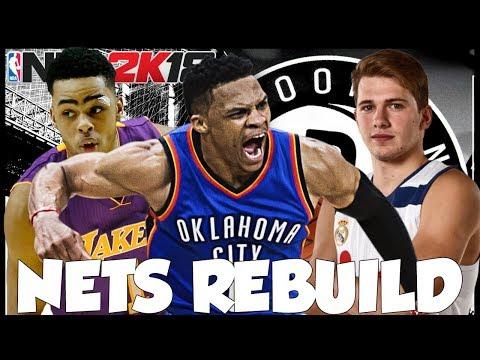 FIRST REBUILD ON 2K18! REBUILDING THE BROOKLYN NETS! NBA 2K18 MYLEAGUE