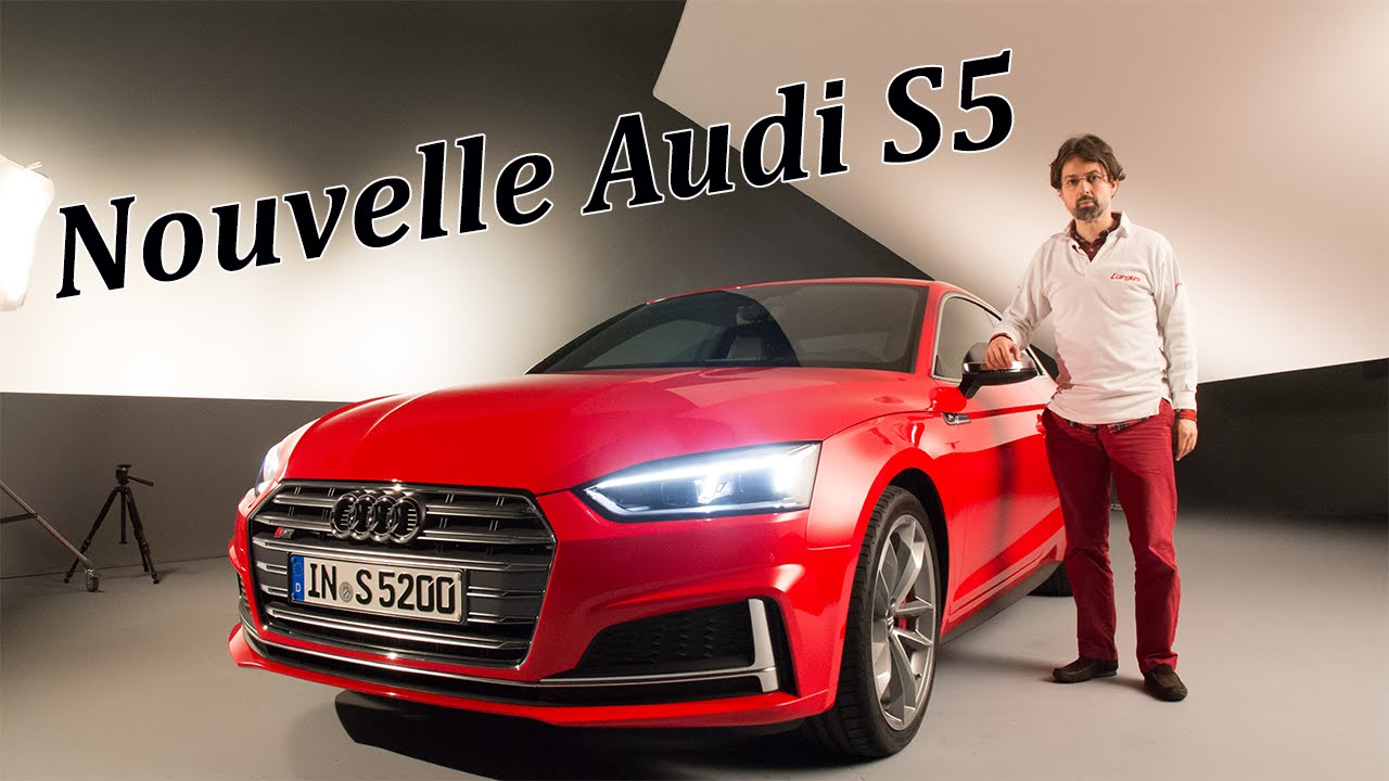 audi a5 coup 2016 l 39 argus d j bord de la nouvelle s5 en vid o youtube. Black Bedroom Furniture Sets. Home Design Ideas
