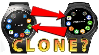 """Samsung Gear S2 """"CLONE"""", which one is which?"""