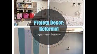 Projeto Decor: Reforma - pintura na parede Thumbnail