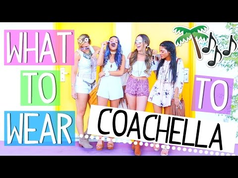 What To Wear To A Music Festival! Coachella Outfit Ideas!