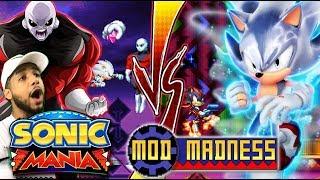 Sonic Mania PC - MASTERED ULTRA INSTINCT SONIC VS JIREN - Mod Madness