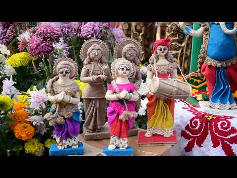 Foreigners At Handicraft Fair 2018 Eco Park New Town Kolkata West